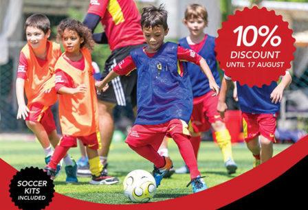 Elite Soccer Coaching Football School Early Bird Discount