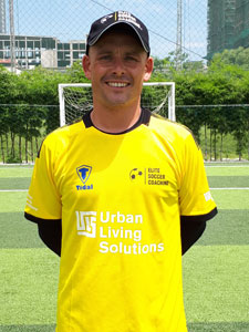 Elite Soccer Coaching - Coach Nicky Baldock