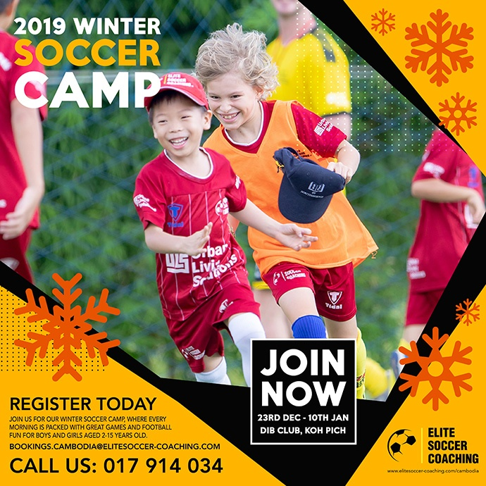Sign Up For Winter Soccer Camp Today!